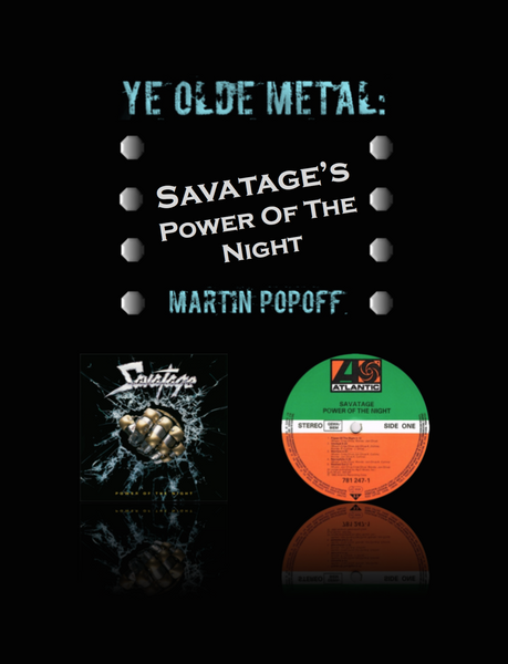 Martin Popoff – eBook – Savatage – Power Of The Night