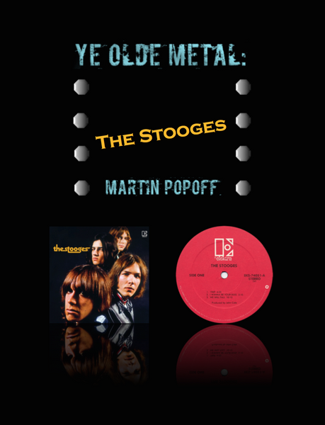 Martin Popoff – eBook – The Stooges – The Stooges
