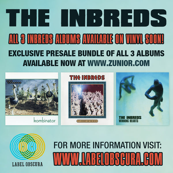 The Inbreds - Pre-Release 3-Pack Vinyl Collection