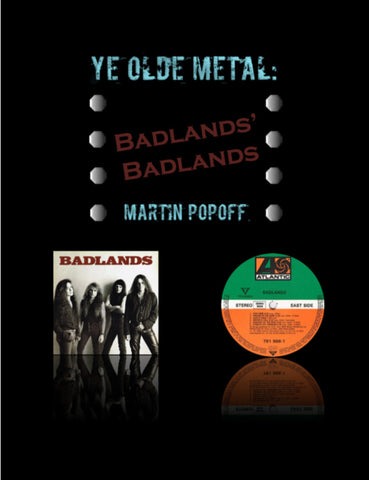 Martin Popoff - eBook - Badlands - Badlands