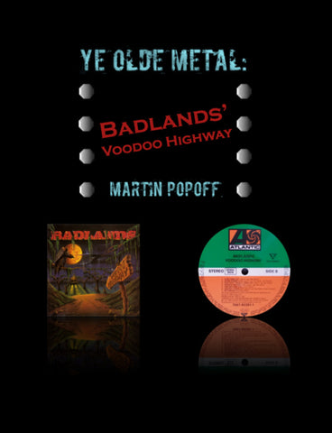 Martin Popoff - eBook - Badlands – Voodoo Highway