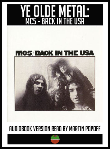 Martin Popoff – MC5: Back In The USA – Audiobook