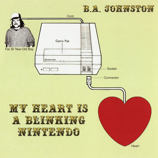 B.A. Johnston - My Heart Is a Blinking Nintendo