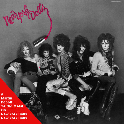 Martin Popoff - eBook - New York Dolls – New York Dolls