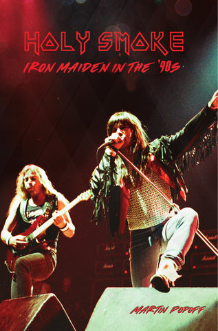 eBook -  Martin Popoff - Holy Smoke: Iron Maiden in the '90s