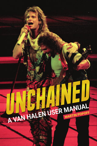 eBook -  Martin Popoff - Unchained: A Van Halen User Manual