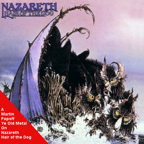 Martin Popoff - eBook - Nazareth – Hair of the Dog