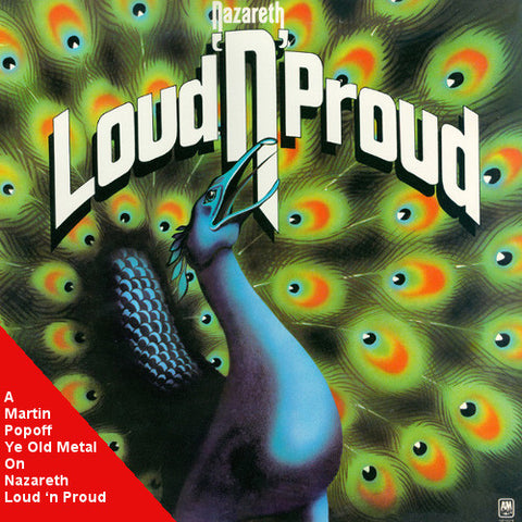Martin Popoff - eBook - Nazareth – Loud 'n Proud
