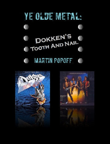 Martin Popoff – eBook – Dokken – Tooth And Nail