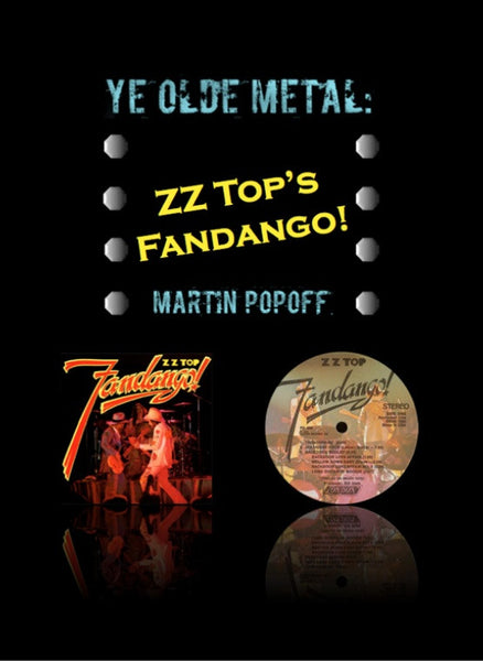 Martin Popoff – eBook – ZZ Top – Fandango!