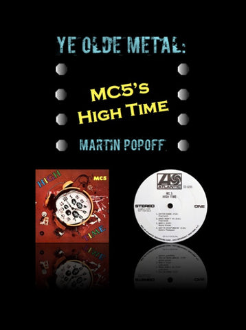 Martin Popoff – eBook – MC5 – High Time