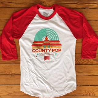 County Pop Logo T-Shirt - Free Shipping