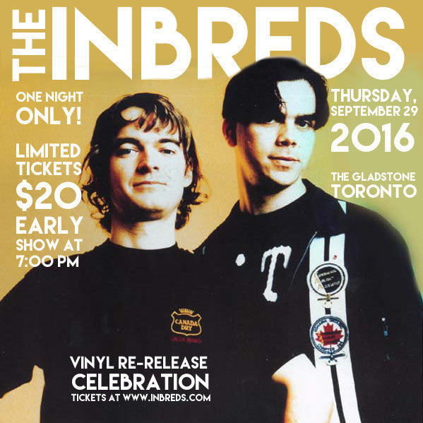The Inbreds - Gladstone - Vinyl Re-Release Show