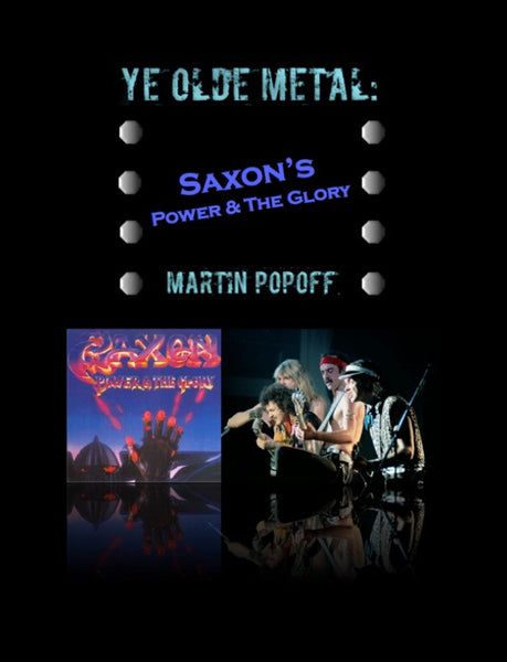 Martin Popoff - eBook - Saxon - Power & The Glory