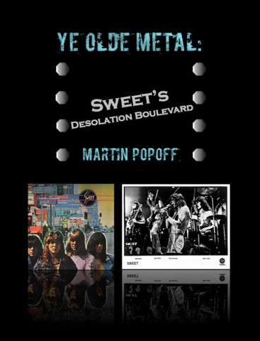 Martin Popoff – eBook – Sweet – Desolation Boulevard