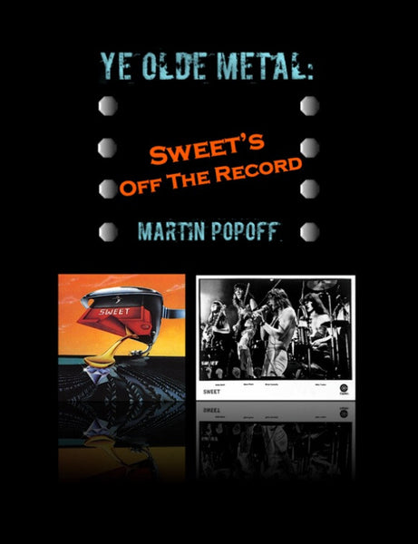 Martin Popoff – eBook – Sweet – Off The Record