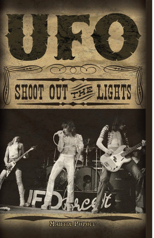 Martin Popoff - eBook - UFO: Shoot Out The Lights