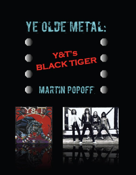 Martin Popoff - eBook - Y&T - Black Tiger