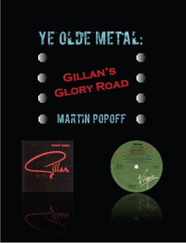 Martin Popoff - eBook - Gillan - Glory Road