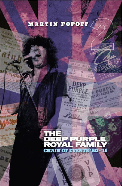 Martin Popoff - eBook - The Deep Purple Royal Family: Chain of Events '80 - '11