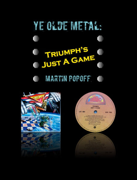 Martin Popoff – eBook – Triumph - Just A Game