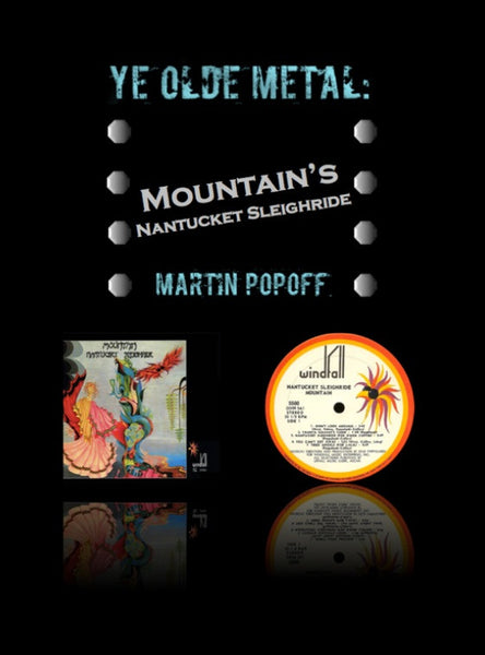Martin Popoff – eBook – Mountain – Nantucket Sleighride