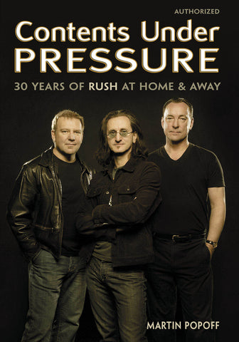 Martin Popoff - eBook - Contents Under Pressure: 30 Years of Rush