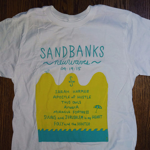 Sandbanks New Waves 2015 T-Shirt - Free Shipping