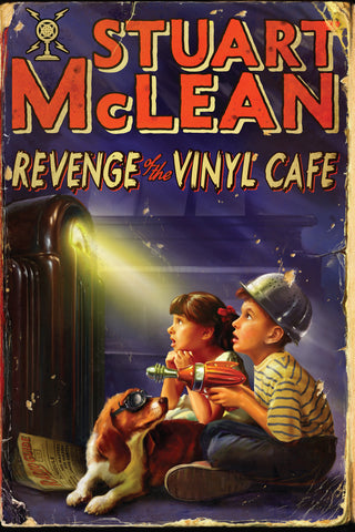 Book - Stuart McLean - Revenge of The Vinyl Cafe - SIGNED