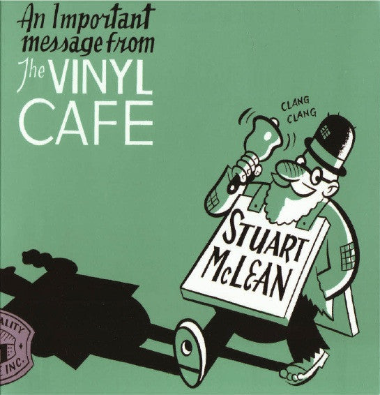 Stuart McLean - An Important Message from the Vinyl Cafe  (CD)