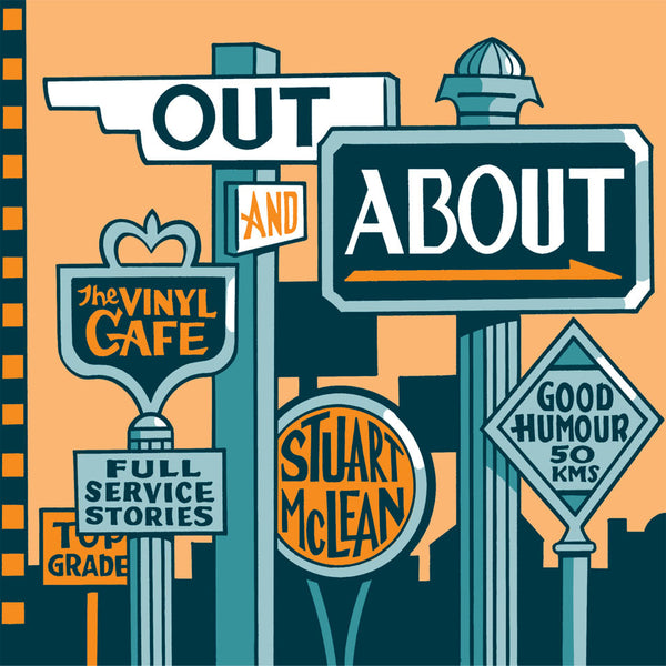 Stuart McLean - Out and About  (CD)