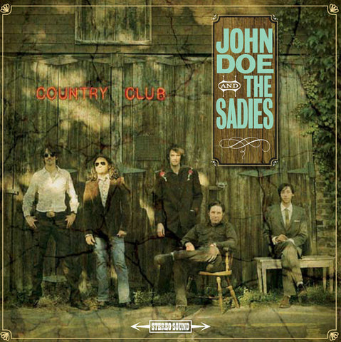 John Doe and The Sadies (Physical CD)