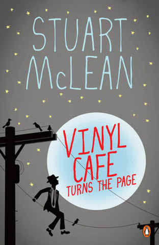 Book - Stuart McLean - Vinyl Cafe Turns The Page - Softcover