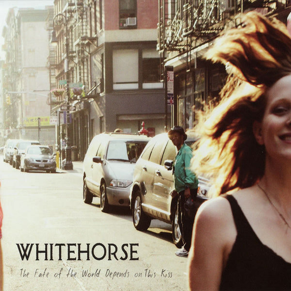 Whitehorse - The Fate of the World Depends on This Kiss, in MP3 and FLAC digital download format.