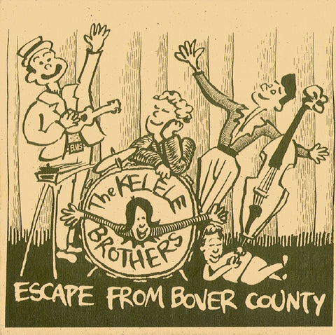 The Kelele Brothers (Ron Sexsmith/Don Kerr)- Escape From Bover County