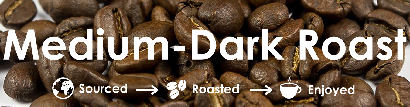 Medium-Dark Roast Coffee