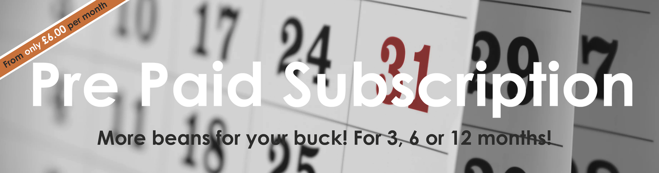 Pre Paid Coffee Subcription - Surprise Me
