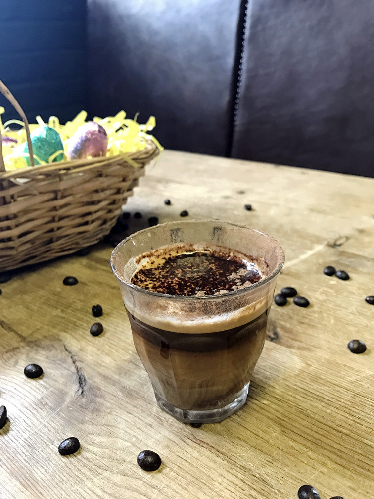 Redber's Easter Egg Mocha Shot Coffee