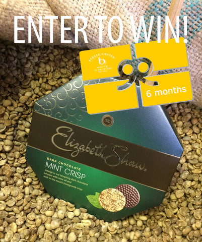 Redber Coffee Valentines Competition - Win a 6 month coffee subscription and a box of luxury chocoates