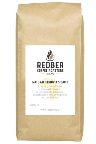 Ethiopian Natural Sidamo Coffee