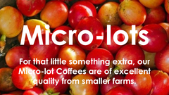 Redber's Micro Lot Coffee