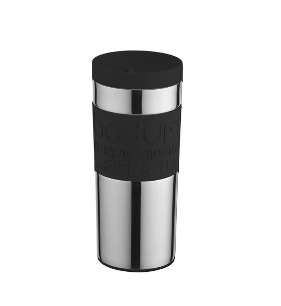 Bodum Stainless Steel Travel Vacuum Mug 0.35L - Black Save  View   More Duplicate