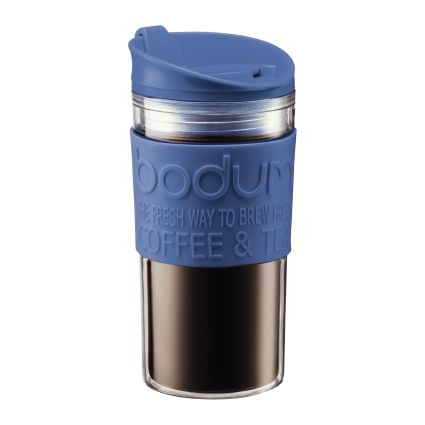 Bodum Vacuum Plastic Travel Mug 11103-979B-Y18 - Denim