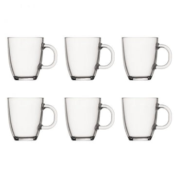 Bodum Bistro Double Wall Glasses, 0.35 l, 12 oz, Set of 6 - 11239-10-2