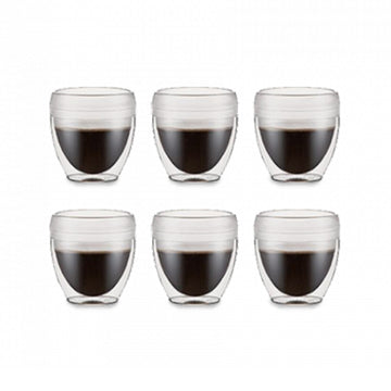 Bodum Pavina Outdoor 6 pcs double wall tumbler, 0.25l, 8oz, 11848-10SA-12