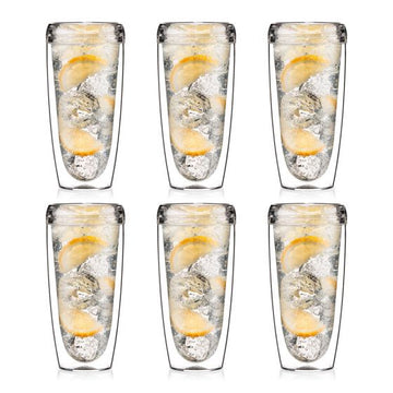 Bodum Pavina Outdoor 6 pcs double wall tumbler, 0.60l, 20oz 11894-10SA-12