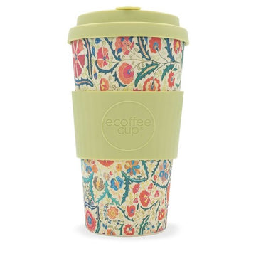 Ecoffee Cup Reusable Bamboo Travel Cup 0.45l / 16 oz. - Papaseidici