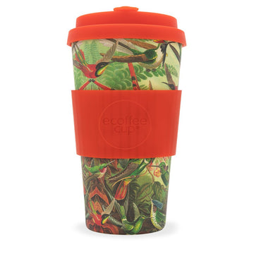 Ecoffee Cup Reusable Bamboo Travel Cup 0.45l / 16 oz. - Yo'twitches