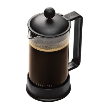 Bodum Brazil 3 cup, 0.35L French Press Cafetiere - Black 1543-01