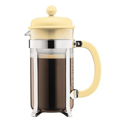 Bodum Caffettiera 8 Cup Cafetiere, 1L, Banana Yellow